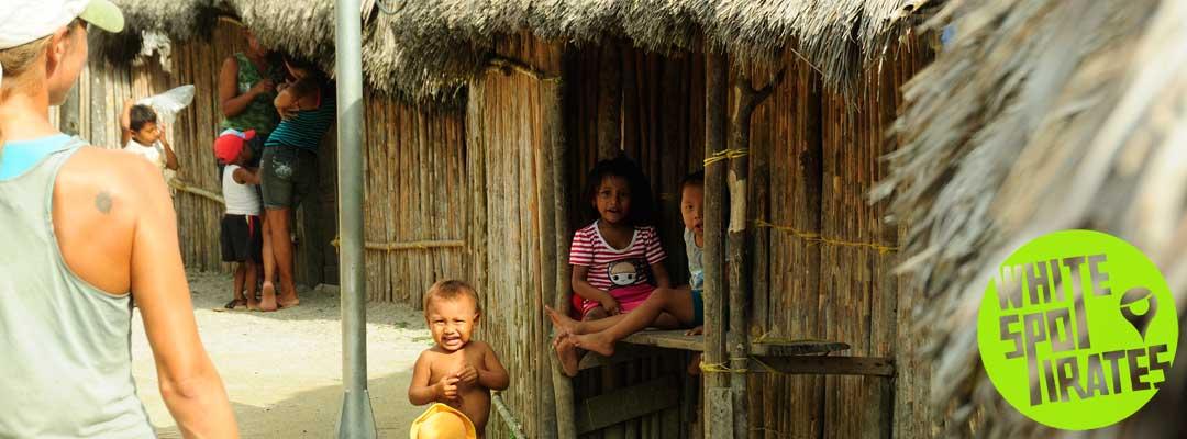 indigenous village San Blas