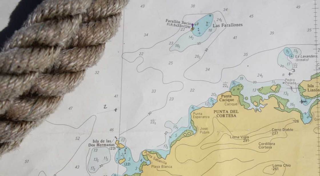 nautical chart Panama