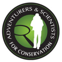 Adventureres & Scientists for Cnservation Logo