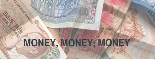 Money to finance sailing around the world