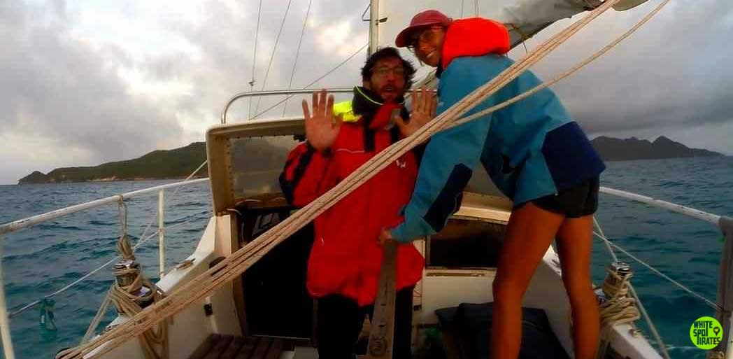 couple from sailing video sailing to providencia