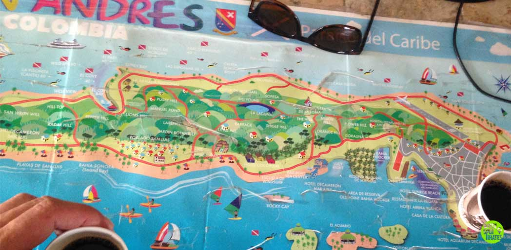 map of san andres