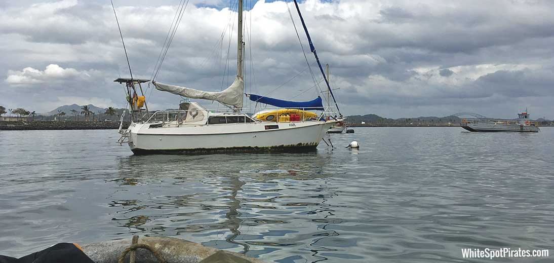 sailing vessel karl in Panama