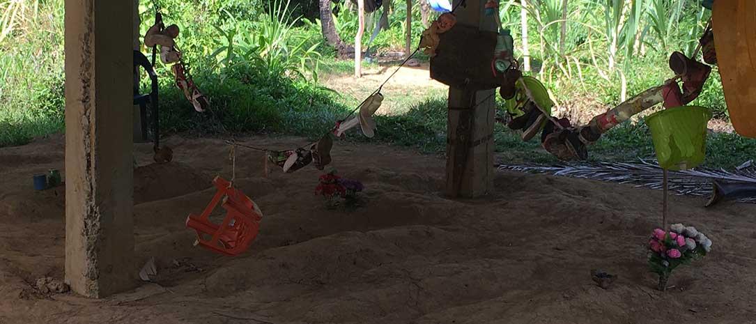 Graveyard in Guna Yala