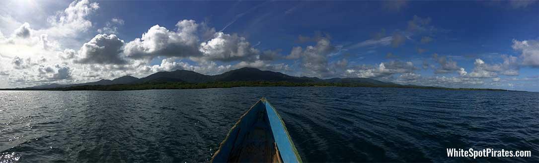 San Blas Adventures: crusing towards mainland