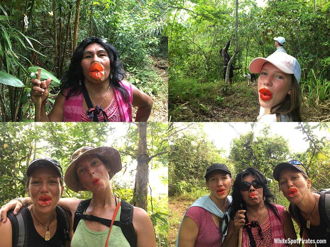 San Blas Adventures: Marilyin Monroe lips